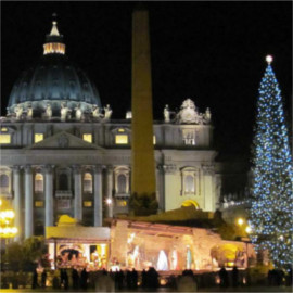 Christmas at St Peter's Basilica