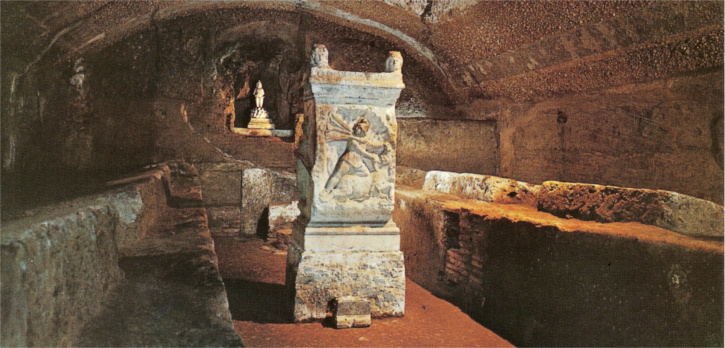 4th Century Basilica of San Clemente underground Pic