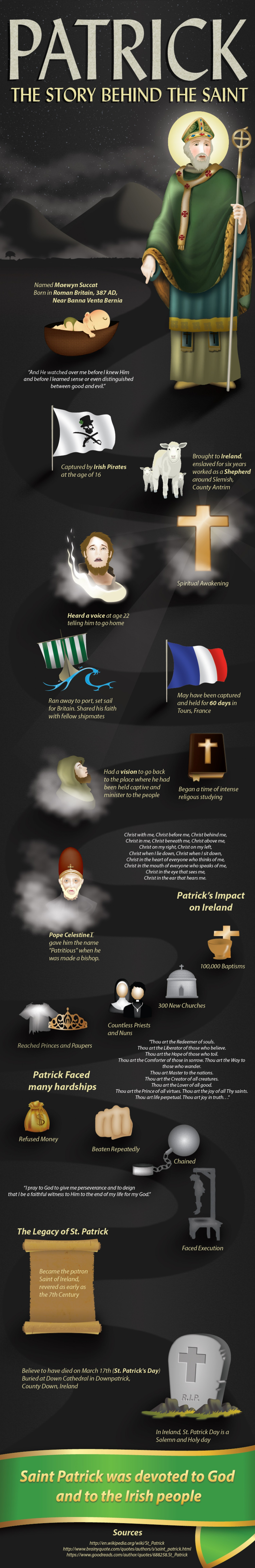 About St Patrick